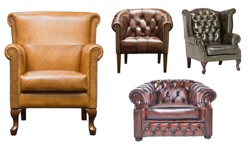 Fotele Chesterfield
