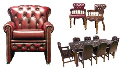 Chesterfield diningroom furniture