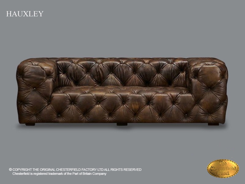 Phenomenal Chesterfield 2 Seat Sofa Hauxley Old Look Brown Leather Pabps2019 Chair Design Images Pabps2019Com