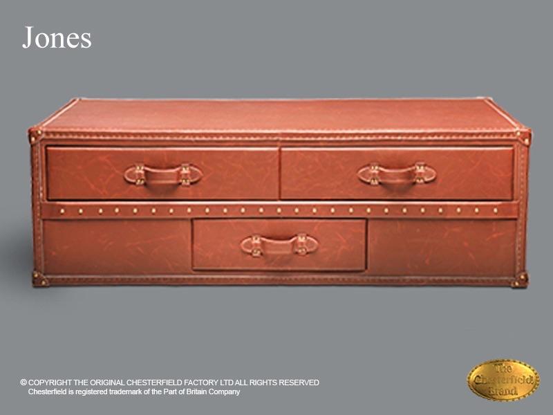 Chesterfield Salon Tafel.Chesterfield Salon Tafel Jones 70x140 Vintage Bruin Leder