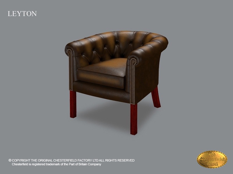 Chesterfield Fauteuil Oxblood.Chesterfield Fauteuil Club Chair Leyton Antique Gold
